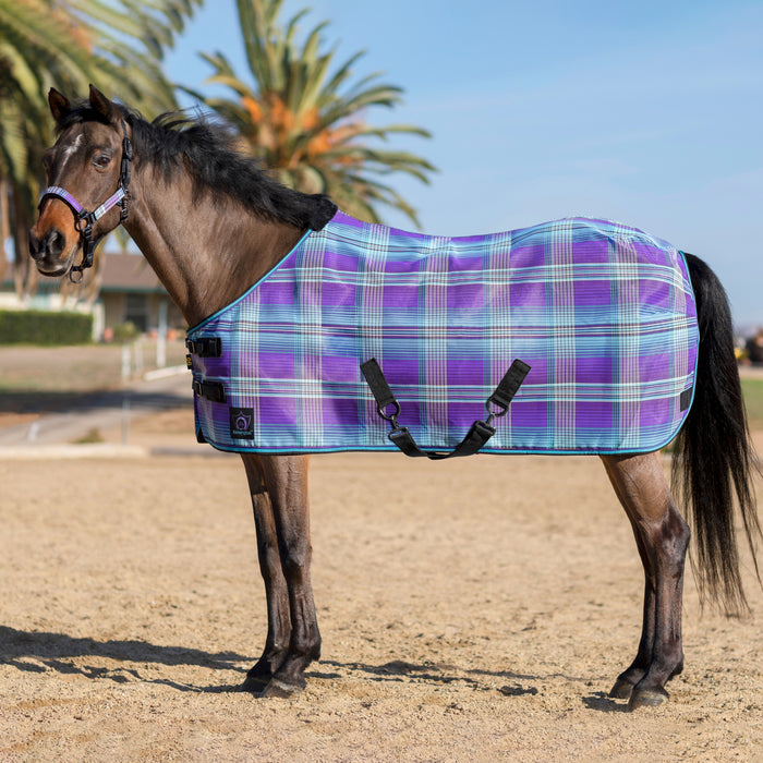 Pony Protective Fly Sheet Criss-Cross Belly Straps