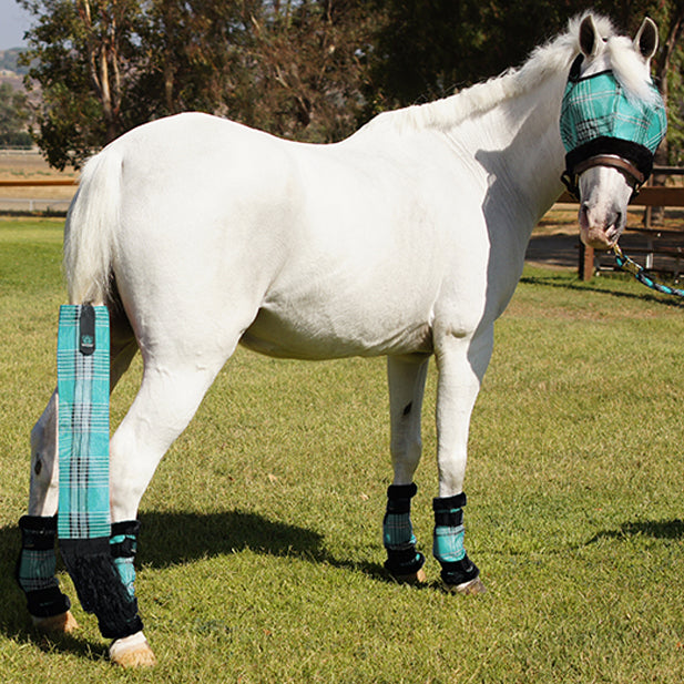 Pony Fly Boots with Fleece Trim - (set of 4)