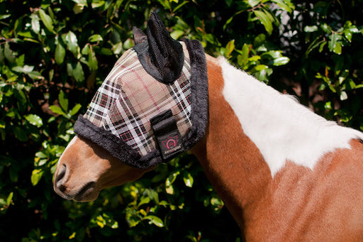 "Pony Fly Mask with Fleece and Ears ""Original Design"""