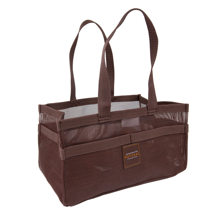 Bay color Kensington grooming tote bag with pockets.