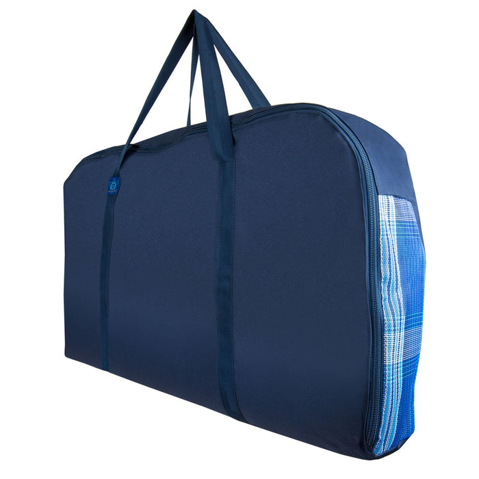 blue western pad carry bag.