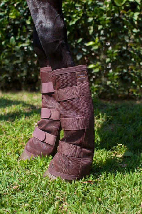 Natural Fly Boots w/Webbing