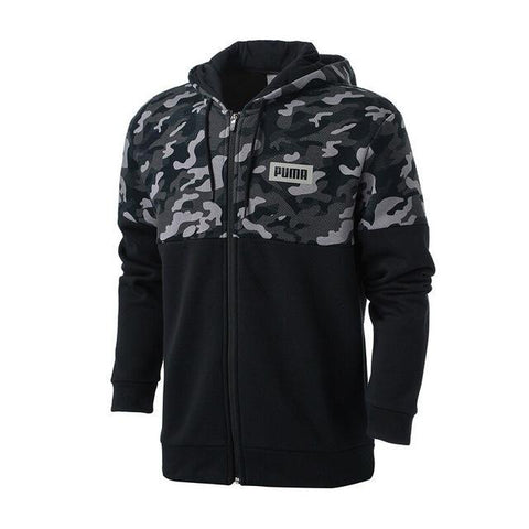 New PUMA Men's AOP Rebel Hoody