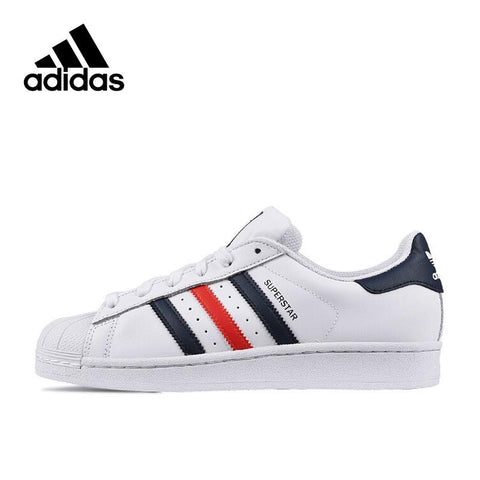 Adidas New Arrival Authentic Originals SUPERSTAR Breathable Women's And Men's Skateboarding Shoes Sports Sneakers S79208