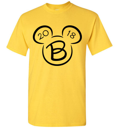 Yellow (Daisy) Adult Disney Mickey Mouse Matching Family Vacation Shirt - B