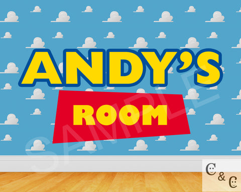 Toy Story Name Art (Digital Download)