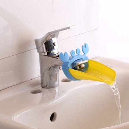 Child's Faucet Extension for Bathroom Sink