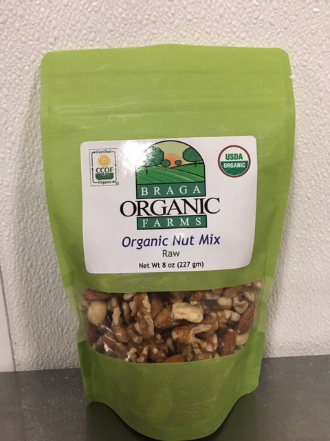 12- 8 oz bags of Organic Nut Mix