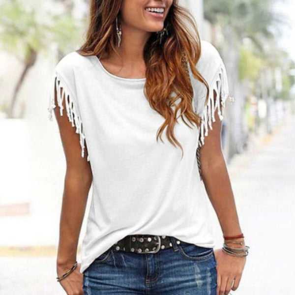 Tassel Casual T-shirt