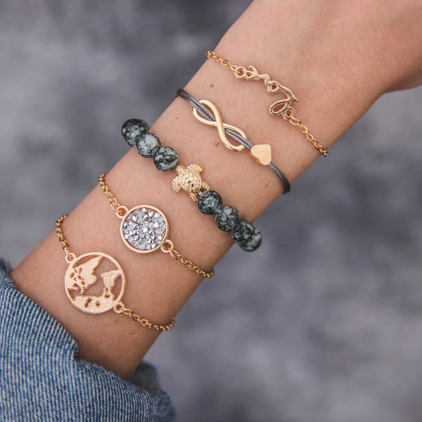 Love Bangle Stack