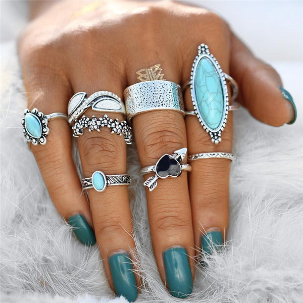 Blue Nile Ring Set