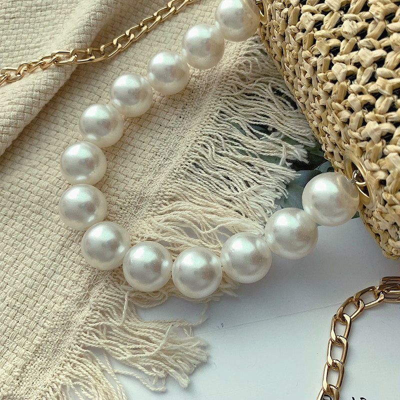 Life in Pearls Bag