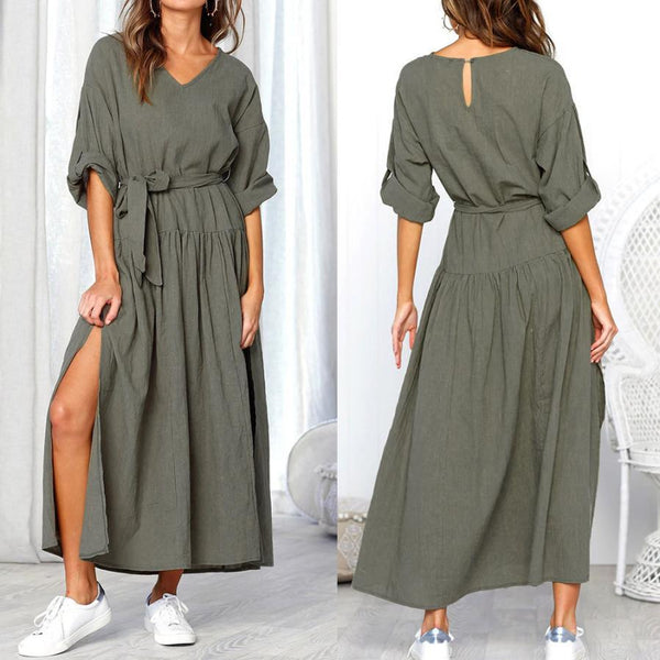 Casual Loose Maxi Dress