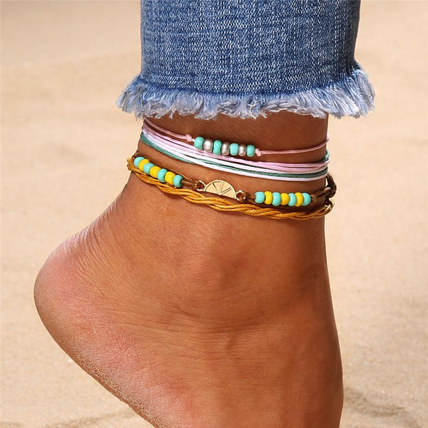 Beads Rope Anklet