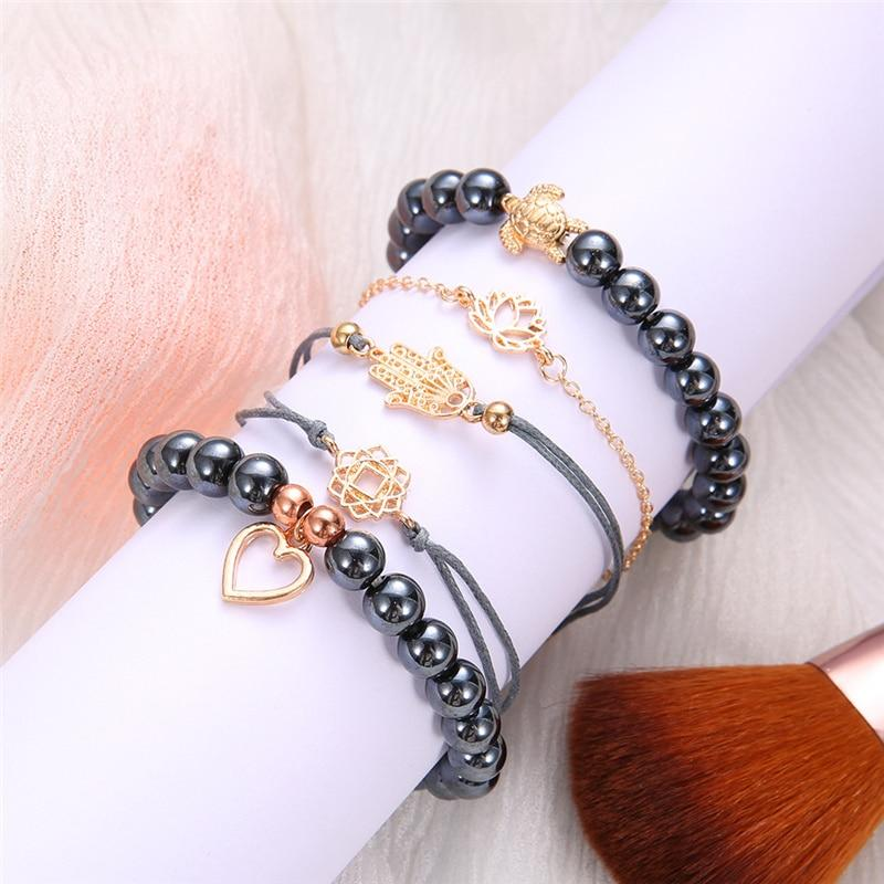 Turtle Love Bracelet Stack