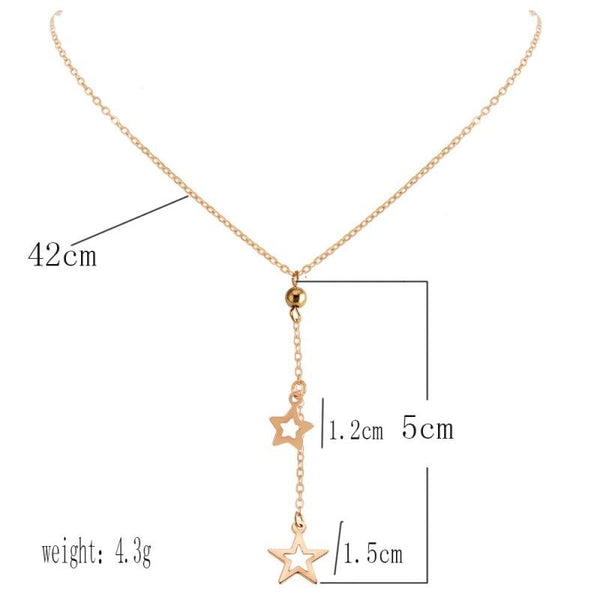 Carina Star Pendant Necklace