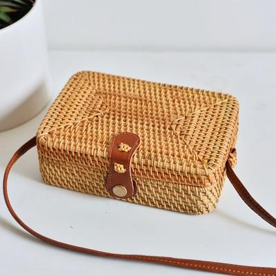 Rectangular woven bag