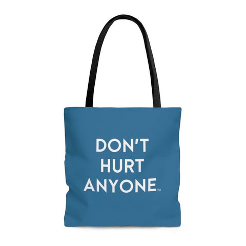 Blue AOP Tote Bag - 3 Sizes