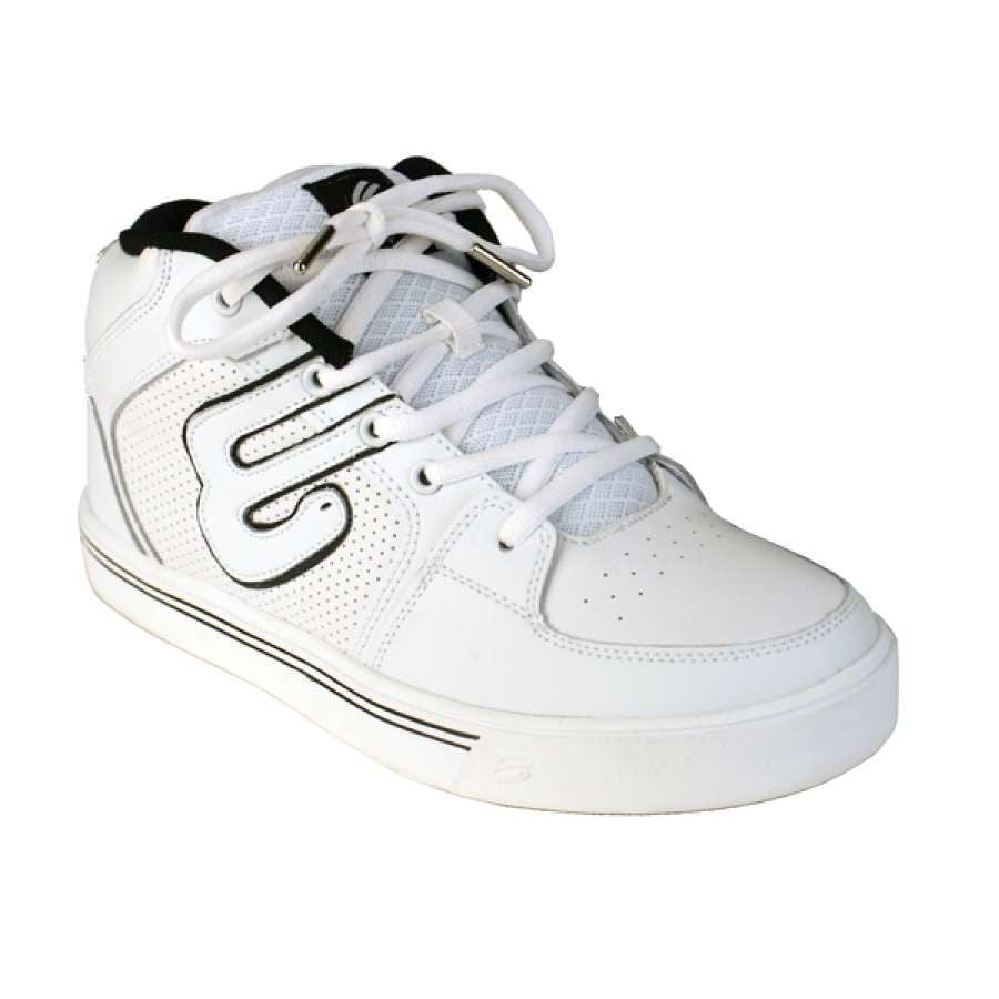 Elyts Icon Mid Top Skate Scooter Shoes - Action White