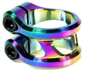 Ethic DTC Sylphe Neochrome Double Clamp (31.8mm) HIC