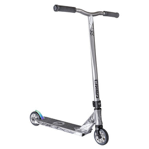 CRISP SCOOTERS 2018 INCEPTION COMPLETE STUNT SCOOTER, Black/Chrome