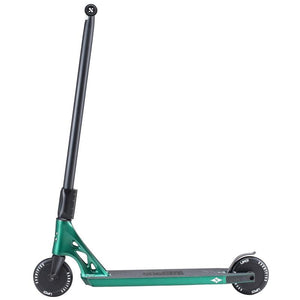 SACRIFICE SCOOTER AKASHI 120 COMPLETE STUNT SCOOTER, RACING GREEN
