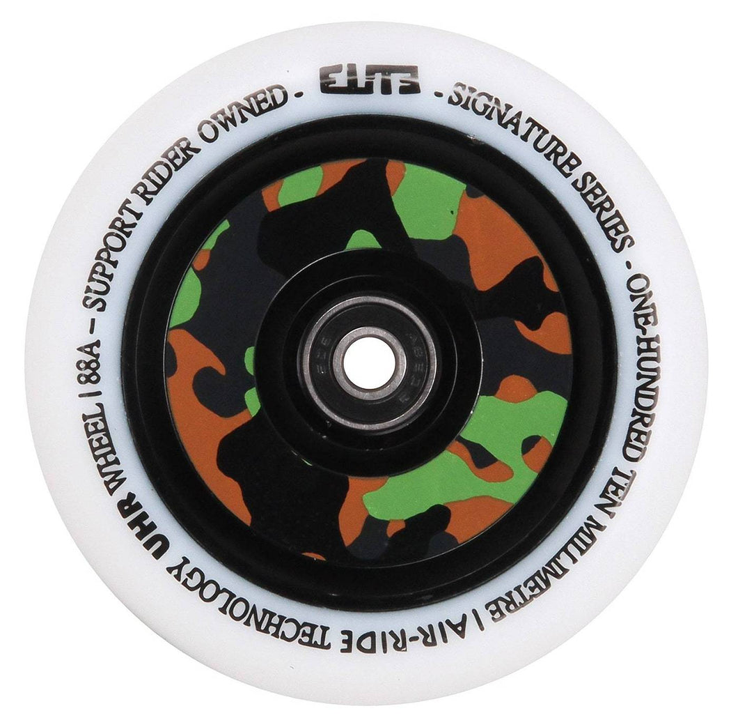 Elite Air Ride 110mm White / Camo Scooter Wheel