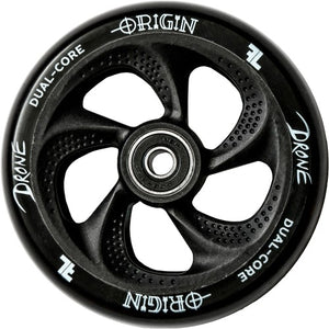 Drone Origin Dual Core 110mm Scooter Wheel - Black
