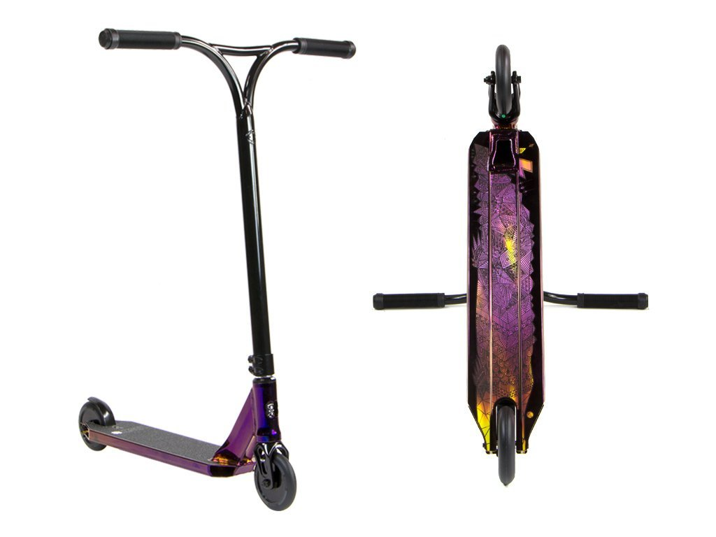 Lucky Covenant Complete scooter – 2018 Neo-Purple