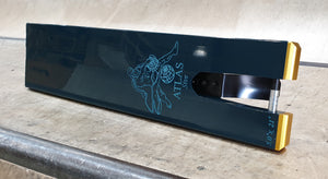 "NORTH SCOOTERS ATLAS SIVE PRO STUNT SCOOTER DECK 5"" - DARK TEAL"
