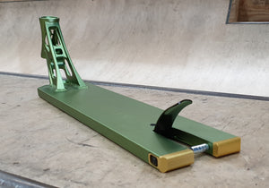 NORTH SCOOTERS TRANSIT FORGED PRO STUNT SCOOTER DECK - MATTE ARMY