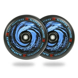Root Ind. Air Scooter Wheels Pair Clayton Lindley 110mm