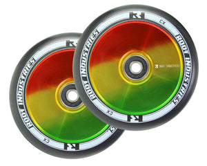 Root Ind. Air Scooter Wheels Pair Black/Marley 110mm