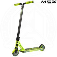 "Load image into Gallery viewer, MGP MGX S1 - SHREDDER 4.5"" - LIME/BLACK Complete Scooter"