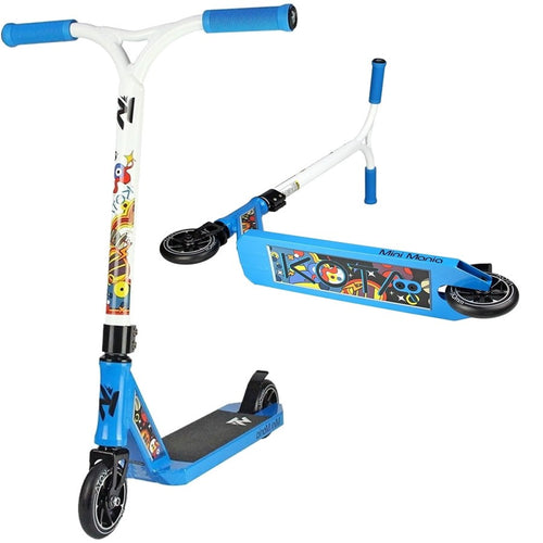 Kota Mini Mania Blue / White Complete Scooter