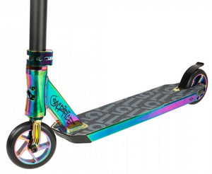 SACRIFICE SCOOTERS FLYTE 115 COMPLETE STUNT SCOOTER, NEOCHROME