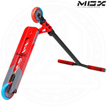 "Load image into Gallery viewer, MGP MGX S1 - SHREDDER 4.5"" - RED/BLACK Complete Scooter"