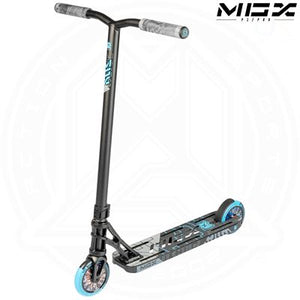 "MGP MGX P1 - PRO 4.5"" - BLACK/BLUE Complete scooter"