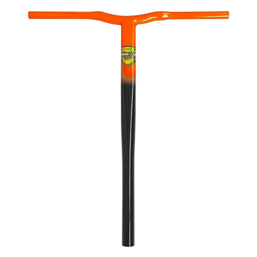 GRIT JORDAN CLARK SIGNATURE Scooter BARS HANDLEBAR V2 - SCS - BLACK / ORANGE