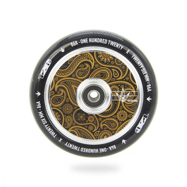 Blunt Hollow Core 120mm Wheel - Bandana Gold