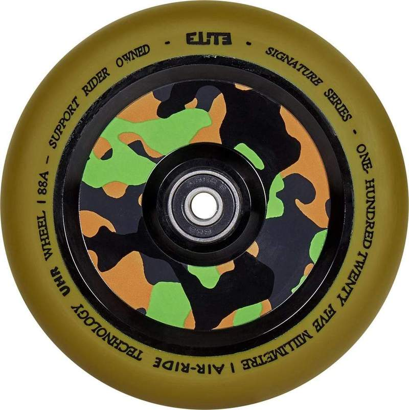 Elite Air Ride 110mm Brown / Camo Scooter Wheel