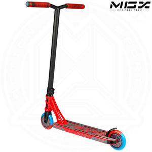 "MGP MGX S1 - SHREDDER 4.5"" - RED/BLACK Complete Scooter"