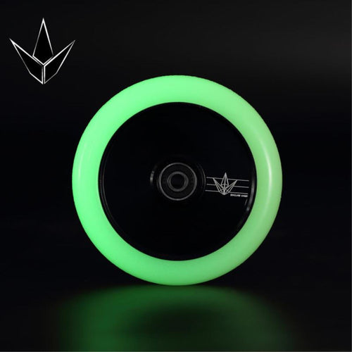 Blunt Envy 120mm Hollow Core Wheel - Glow in the Dark / Black