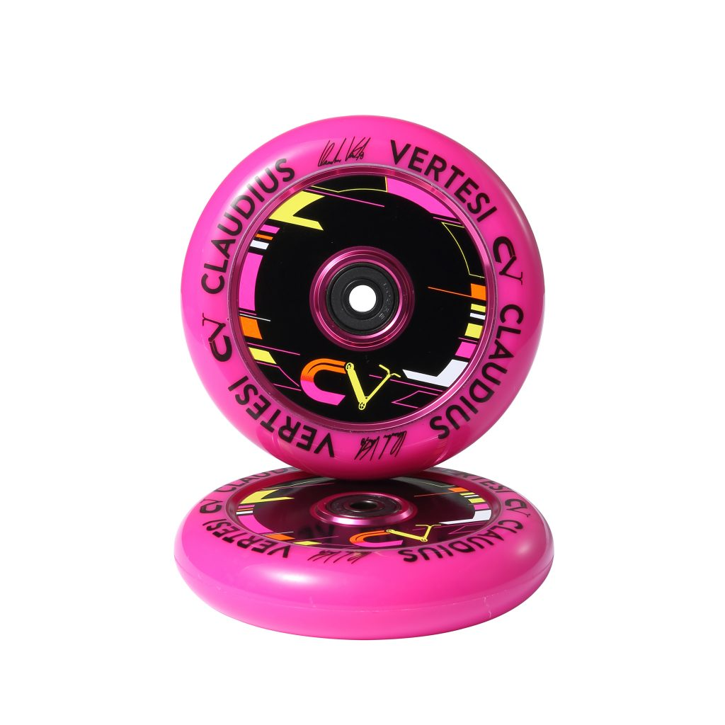 Claudius Vertesi Signature Purple 110mm Wheels (Sold In Pairs)