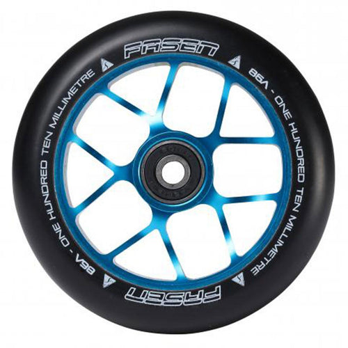 Fasen Jet Alloy Core Scooter Wheel 110mm - Blue