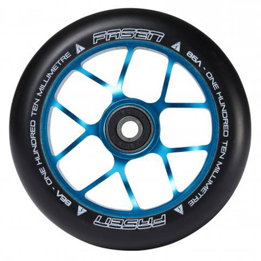 Fasen Jet Alloy Core Scooter Wheel 110mm - Teal