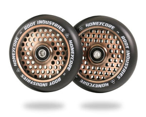 Root Ind. Honey Core Scooter Wheels Pair Black/Coppertone 110mm