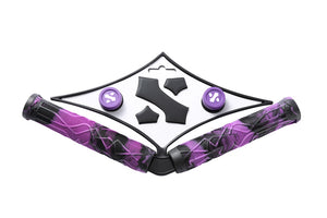 Sacrifice Spy Scooter Grips Black/Purple