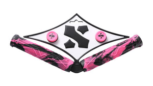Sacrifice Spy Scooter Grips Pink/Black