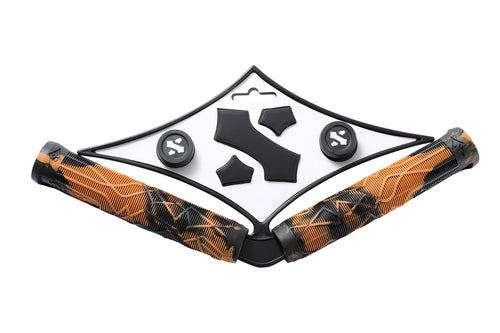 Sacrifice Spy Scooter Grips Brown/Black